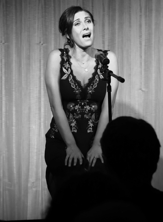 <p>Benanti performs a number from <em>She Loves Me</em>.</p><br />(© Tricia Baron)