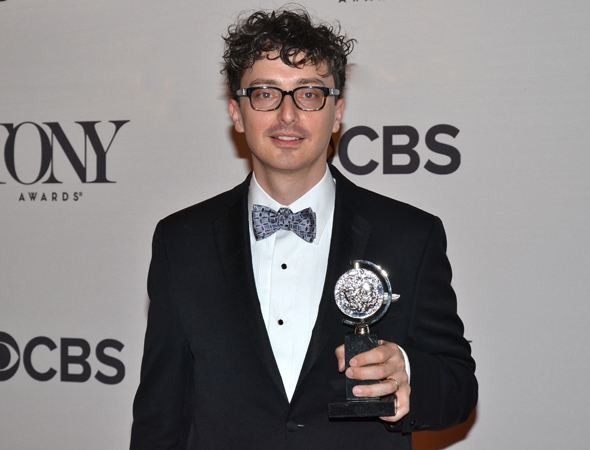 <p>Beowulf Boritt, recipient of the Best Scenic Design of a Play Award for <em>Act One</em>.</p><br />(© David Gordon)