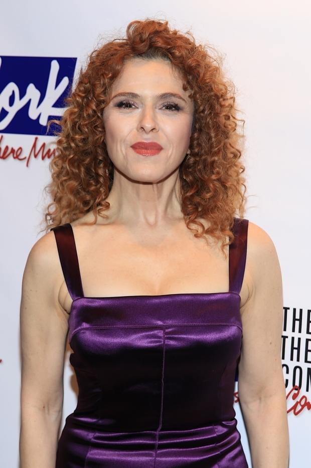 <p>Bernadette Peters appeared with Joel Grey in the musical <em>George M!</em></p><br />(© Tricia Baron)