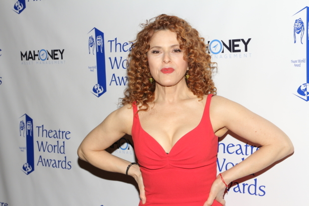 <p>Bernadette Peters receives the fourth annual John Willis Award.</p><br />(© David Gordon)