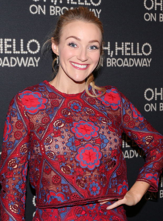 <p>Betsy Wolfe currently stars in the new Broadway revival of <em>Falsettos</em>.</p><br />(© David Gordon)