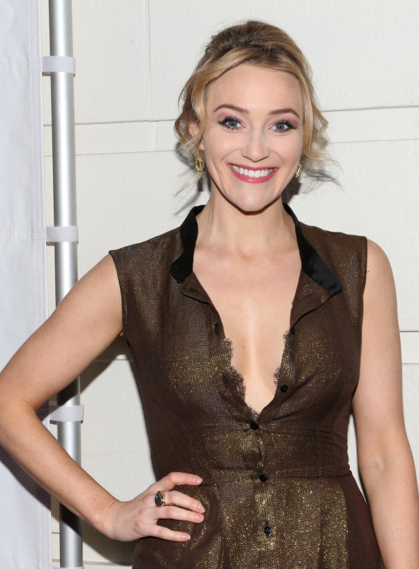<p>Betsy Wolfe is thrilled to be on hand for <em>Gigi</em>&#39&#x3B;s opening night.</p><br />(© David Gordon)