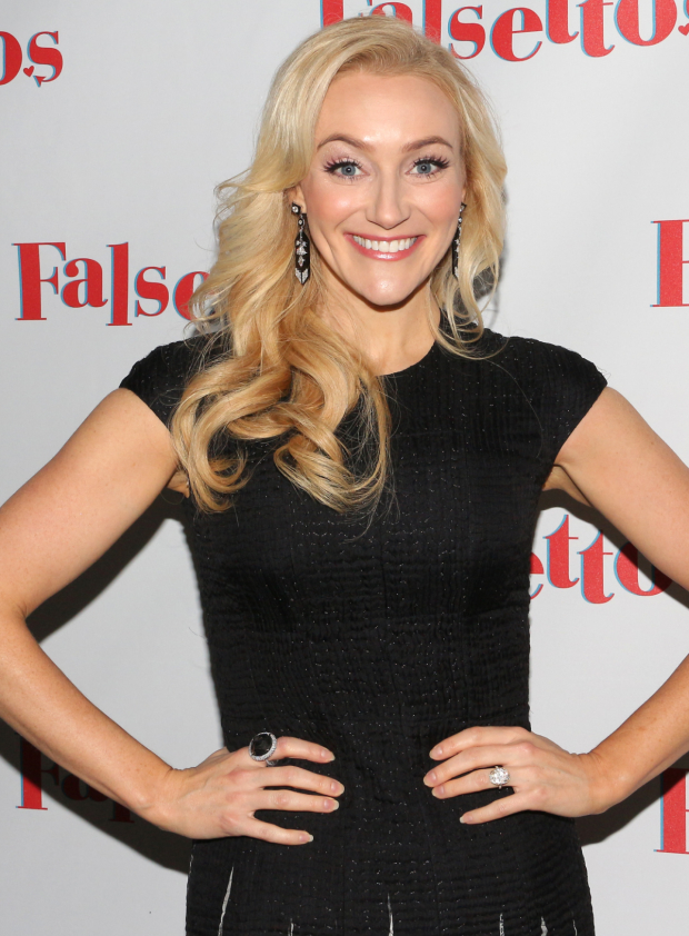 <p>Betsy Wolfe completes the company as Cordelia.</p><br />(© David Gordon)