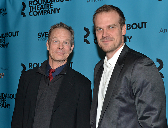 <p>Bill Irwin and David Harbour reunite after starring in Broadway&#39&#x3B;s 2005 revival of <em>Who&#39&#x3B;s Afraid of Virginia Woolf?</em></p><br />(© David Gordon)