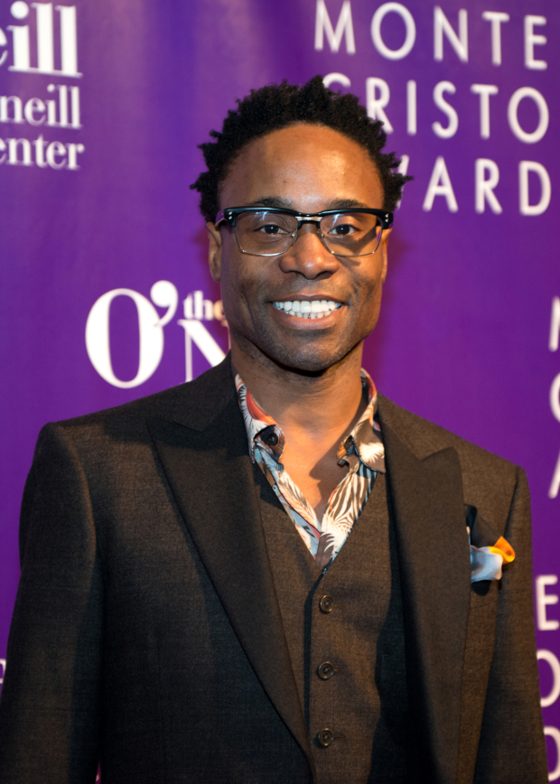 <p>Billy Porter was also part of the <em>Shuffle Along</em> contingent on hand to celebrate director George C. Wolfe.</p><br />(© Allison Stock)