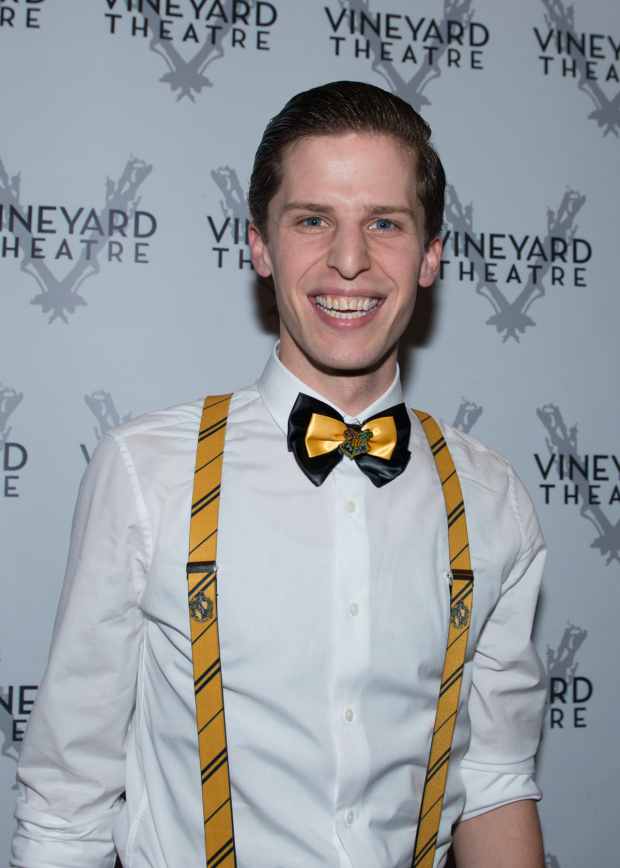 <p>Blake Zolfo smiles for a photo on opening night.</p><br />(© Allison Stock)