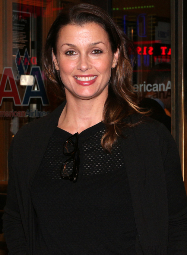 <p><em>Blue Bloods</em> star Bridget Moynahan is excited for a night at the theater.</p><br />(© David Gordon)