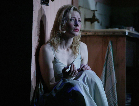 <p><em>Blue Jasmine</em> nominee Cate Blanchett starred in <em>A Streetcar Named Desire</em> at BAM in 2009.</p><br />(© Lisa Tomasetti)