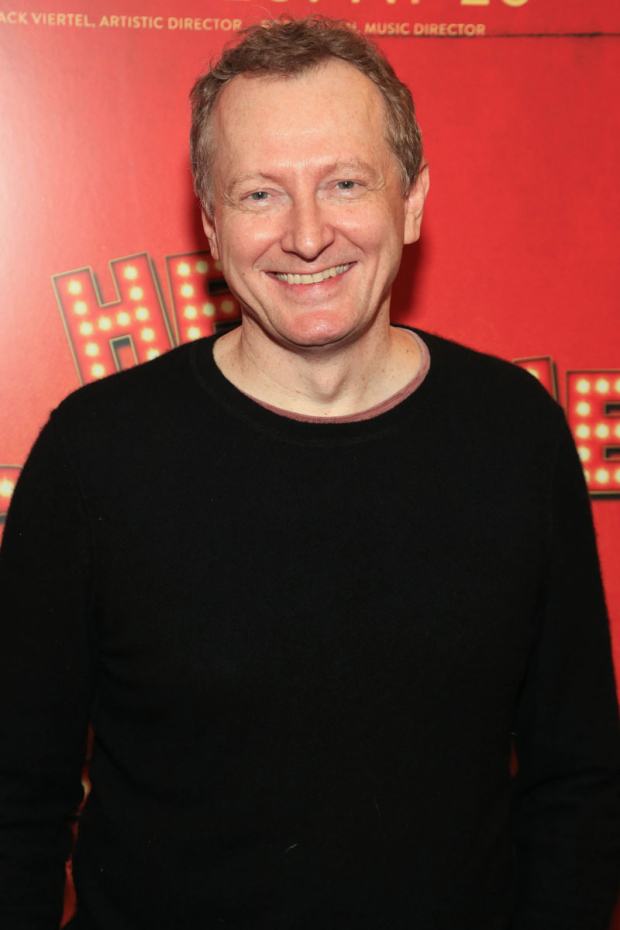 <p>Bob Martin reprised his hit <em>Drowsy Chaperone</em> role of Man in Chair.</p><br />(© Tricia Baron)