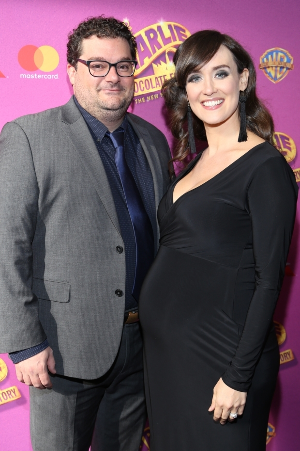 <p>Bobby Moynihan and Brynn O&#39&#x3B;Malley enjoy the evening.</p><br />(© Tricia Baron)