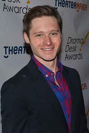 <p>Bobby Steggert — Outstanding Featured Actor in a Musical nominee for <em>Big Fish</em>.</p><br />(© David Gordon)