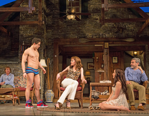 <p>Bowgen clocks in some shirtless stage time as Spike. </p><br />(© Matthew Murphy)