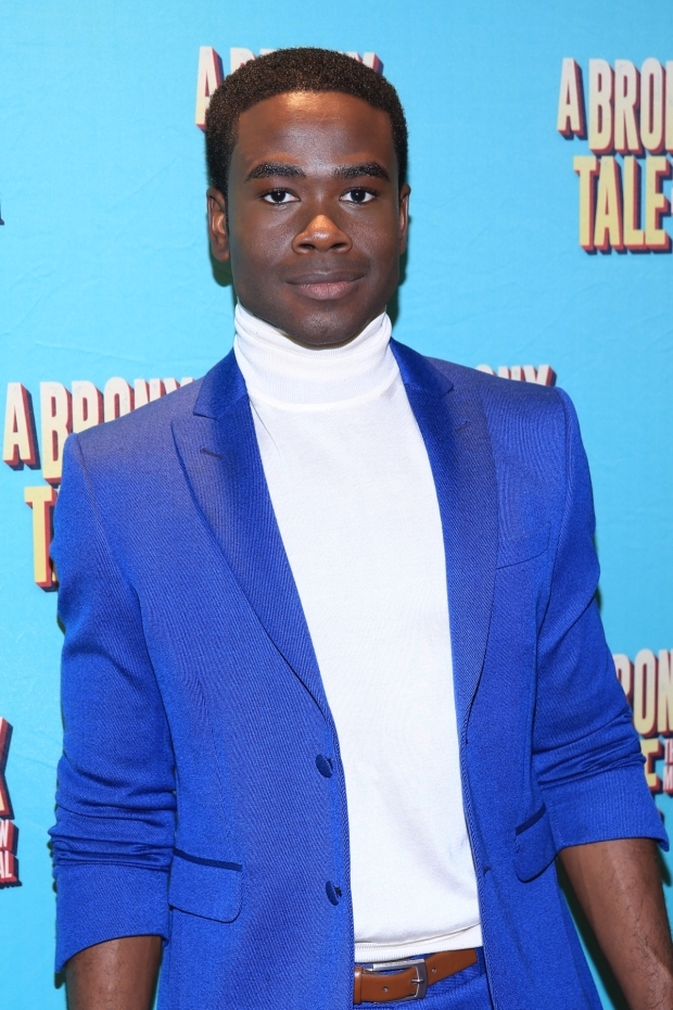 <p>Bradley Gibson plays Tyrone in the Broadway cast of <em>A Bronx Tale</em>. </p><br />(© Tricia Baron)