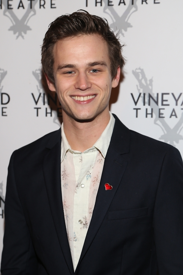 <p>Brandon Flynn stars in Vineyard Theatre&#39&#x3B;s <em>Kid Victory</em>.</p><br />(© Tricia Baron)