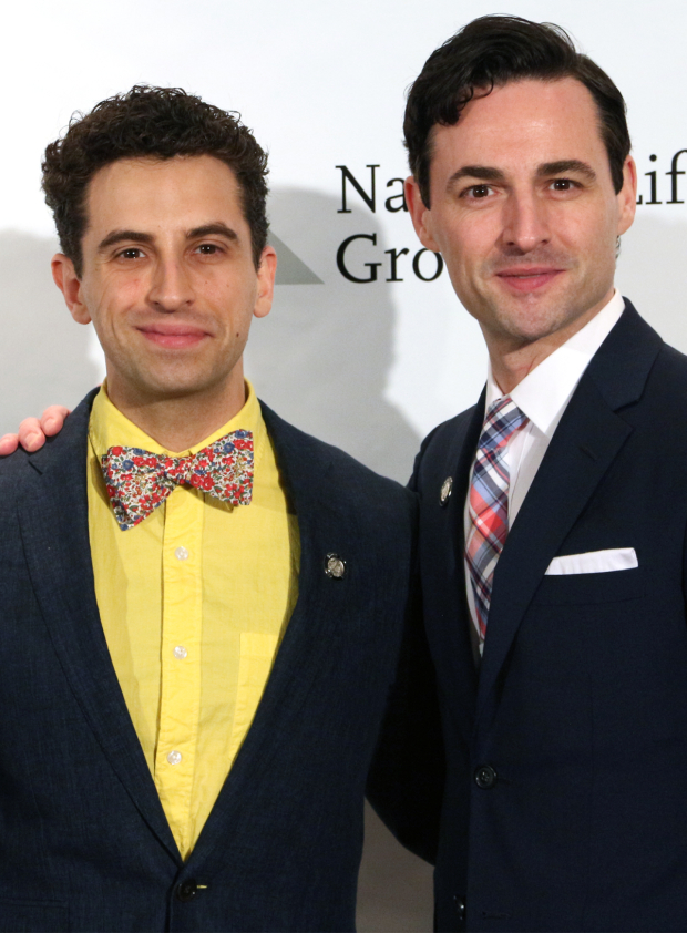 <p>Brandon Uranowitz and Max von Essen — <em>An American in Paris</em></p><br />(© David Gordon)