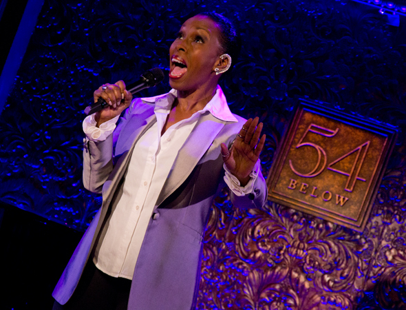 <p>Brenda Braxton performs the Lieber &amp&#x3B; Stoller tune &quot&#x3B;Don Juan&quot&#x3B; from <em>Smokey Joe&#39&#x3B;s Café</em>.</p><br />(© David Gordon)