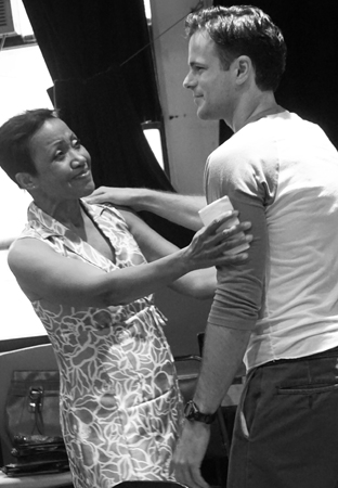 <p>Brenda Pressley plays opposite Jonny Orsini.</p><br />(© Leah Michalos)