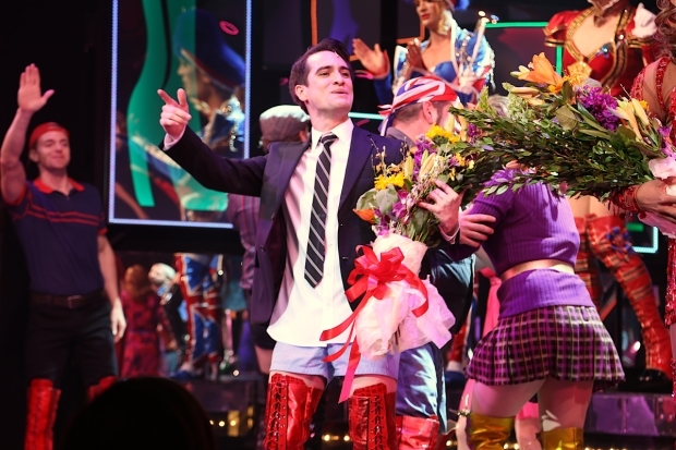 <p>Brendon Urie joined the cast May 26.</p><br />(© Tricia Baron)