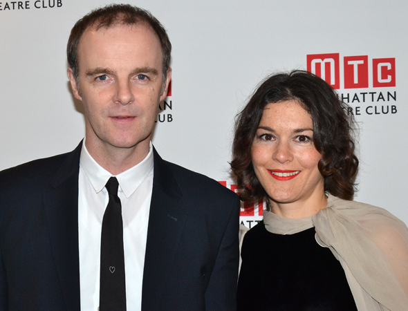 <p>Brían F. O&#39&#x3B;Byrne, who plays Anthony Reilly, celebrated the opening with his wife, actress Heather Goldenhersh.</p><br />(© David Gordon)