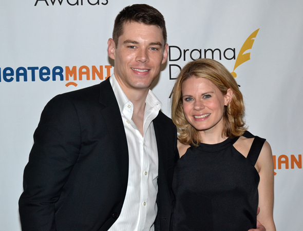 <p>Brian J. Smith and Celia Keenan-Bolger — Featured Actor/Actress in a Play nominees for <em>The Glass Menagerie</em>.</p><br />(© David Gordon)