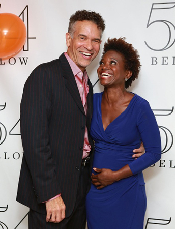 <p>Brian Stokes Mitchell and LaChanze celebrate Ahrens and Flaherty&#39&#x3B;s 30th anniversary of collaboration</p><br />(© Robin Marchant/Getty Images for 54 Below)
