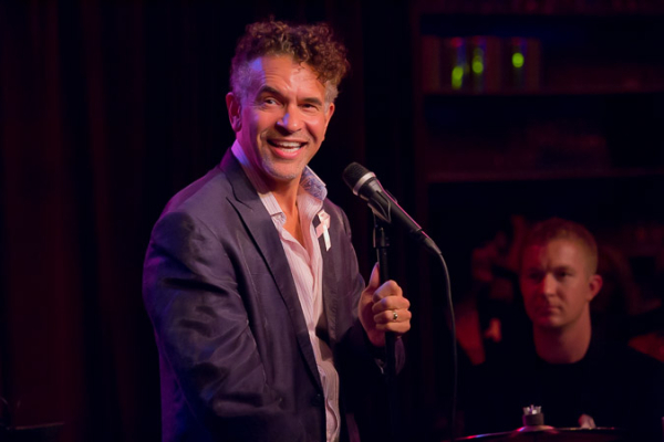 <p>Brian Stokes Mitchell charms the audience with &quot&#x3B;Wonderful World.&quot&#x3B;</p><br />(© Seth Walters)