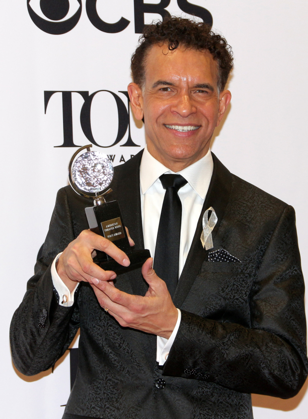<p>Brian Stokes Mitchell, Isabelle Stevenson Award winner.</p><br />(© David Gordon)