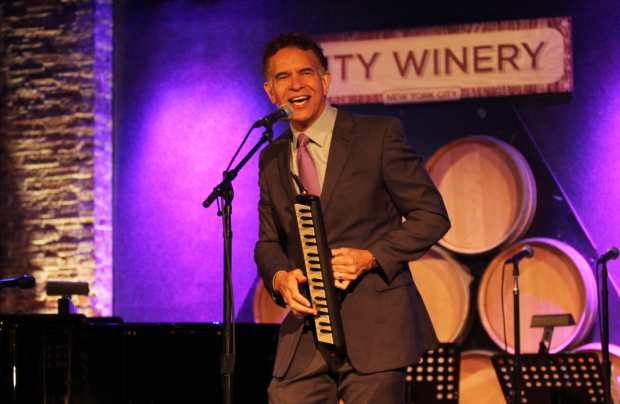 <p>Brian Stokes Mitchell performed.</p><br />(© Henry McGee)