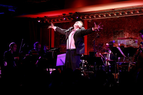 <p>Brian Stokes Mitchell performs &quot&#x3B;Wheels of a Dream&quot&#x3B; from <em>Ragtime</em>.</p><br />(© Robin Marchant/Getty Images for 54 Below)