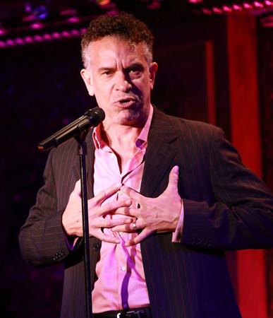 <p>Brian Stokes Mitchell sings at 54 Below.</p><br />(© Robin Marchant/Getty Images for 54 Below)