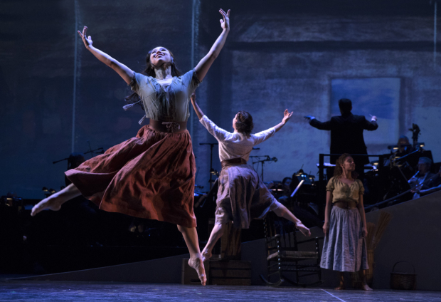 <p><em>Brigadoon</em> plays at City Center through November 19.</p><br />(© Joan Marcus)