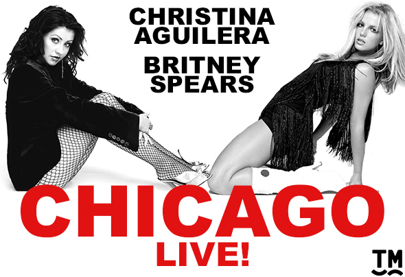 <p><strong>Britney Spears and Christina Aguilera in <em>Chicago</em> </strong><br/>