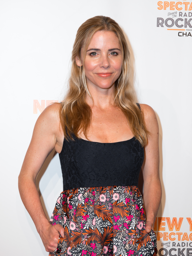 <p>Broadway favorite Kerry Butler walks the red carpet.</p><br />(© Allison Stock)
