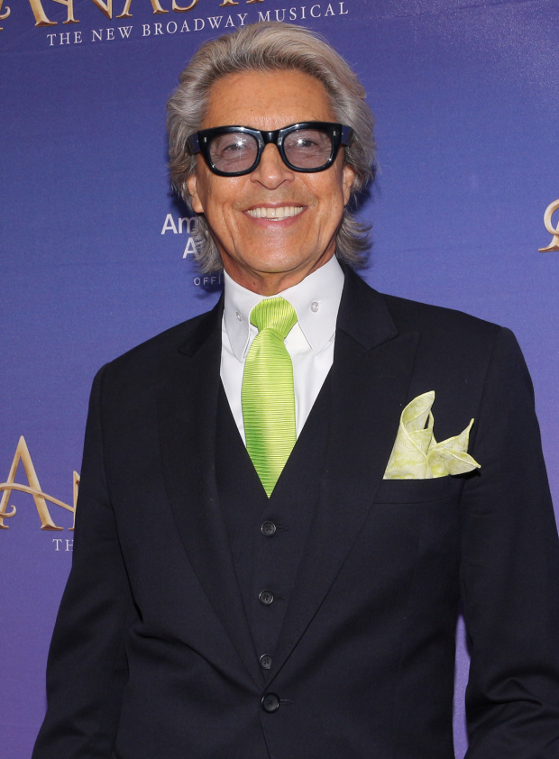 <p>Broadway favorite Tommy Tune stopped for a photo at the opening of <em>Anastasia</em>.</p><br />(© David Gordon)