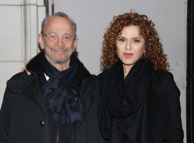 <p>Broadway favorites Joel Grey and Bernadette Peters were in the audience.</p><br />(© David Gordon)