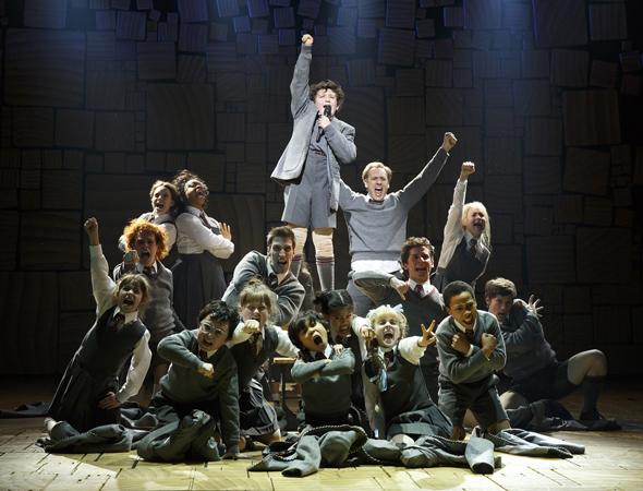 <p>Broadway Fortune Cookie Truisms: &quot&#x3B;Even if you&#39&#x3B;re little, you can do a lot&quot&#x3B; from <em>Matilda the Musical</em>.</p><br />(© Joan Marcus)