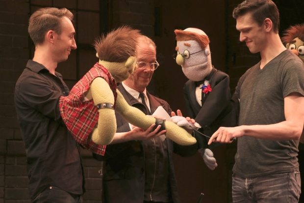 <p>Broadway icon Joel Grey helps Ricky and Rod renew their wedding vows.</p><br />(© Tricia Baron)