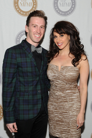 <p>Broadway performers Stephen Carrasco (<em>Kinky Boots</em>) and Lesli Margherita (<em>Matilda</em>).</p><br />(© 2013 Getty Images)