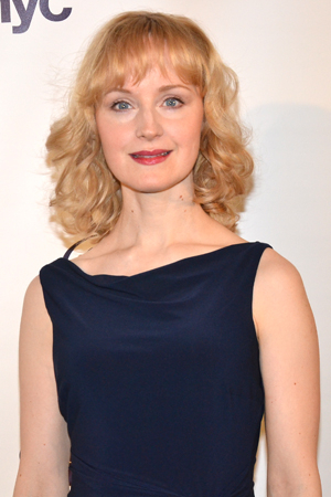 <p>Broadway veteran Erin Davie was one of the evening&#39&#x3B;s performers.</p><br />(© David Gordon)