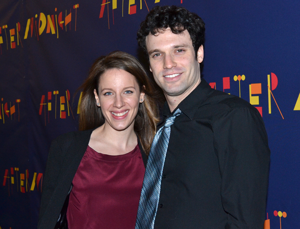 <p>Broadway veterans Jessie Mueller and Jake Epstein will next be seen sharing the stage in the upcoming <em>Beautiful — The Carole King Musical</em>.</p><br />(© David Gordon)