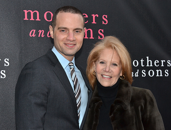 <p>Broadway VIPs Jordan Roth and Daryl Roth were among the sons and mothers on hand for the evening.</p><br />(© David Gordon)
