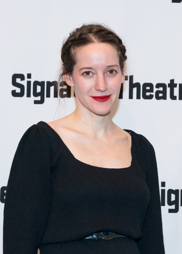 <p>Brooke Bloom celebrates opening night.</p><br />(© Allison Stock)