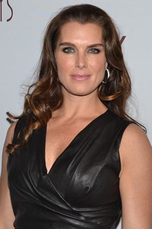 <p>Brooke Shields doesn&#39&#x3B;t let the bitter-cold night stop her from being fashionable.</p><br />(© David Gordon)