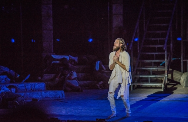 <p>Bryce Ryness stars as Jesus of Nazareth.</p><br />(photo provided by the production)