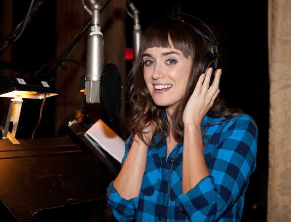 <p>Brynn O&#39&#x3B;Malley preserves one of her songs for the new record.</p><br />(© Seth Walters)