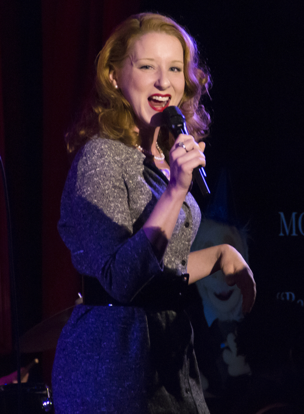 <p>Cabaret star Molly Pope sings &quot&#x3B;Back in Business&quot&#x3B; from <em>Dick Tracy</em>.</p><br />(© David Gordon)