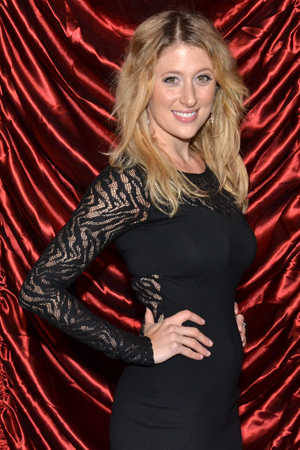 <p>Caissie Levy will next be seen on Broadway in the upcoming revival of <em>Les Misérables</em>.</p><br />(© David Gordon)