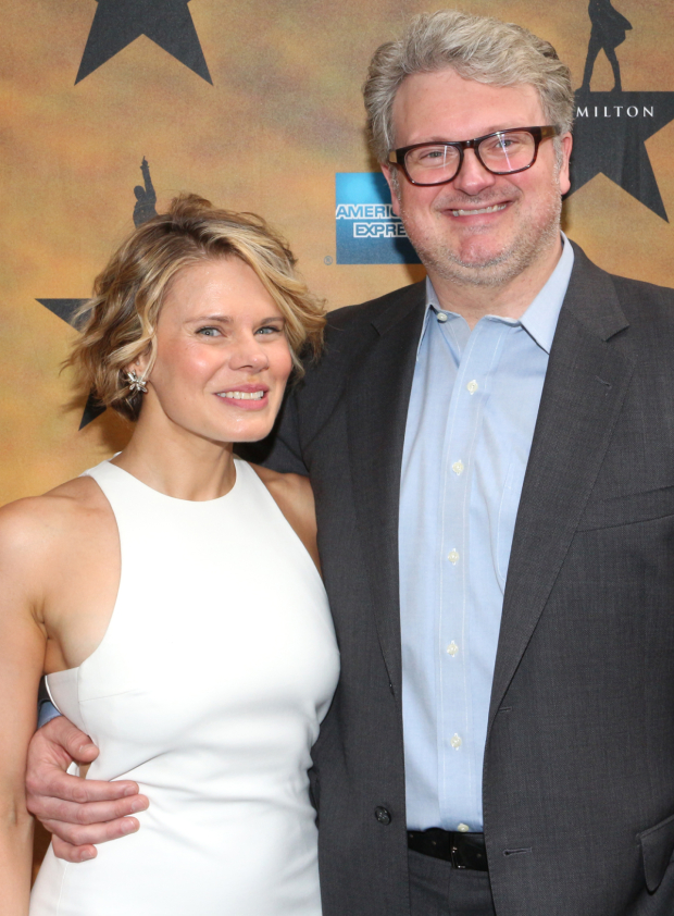 <p>This is one of the first recent Broadway opening nights for new parents Celia Keenan-Bolger and John Ellison Conlee.</p><br />(© David Gordon)