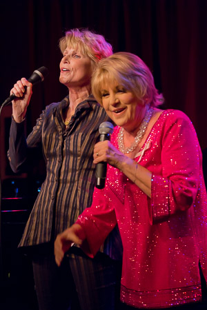 <p>Cancer survivors Marcia Strassman and Lorna Luft had a great time with their duet.</p><br />(© Seth Walters)