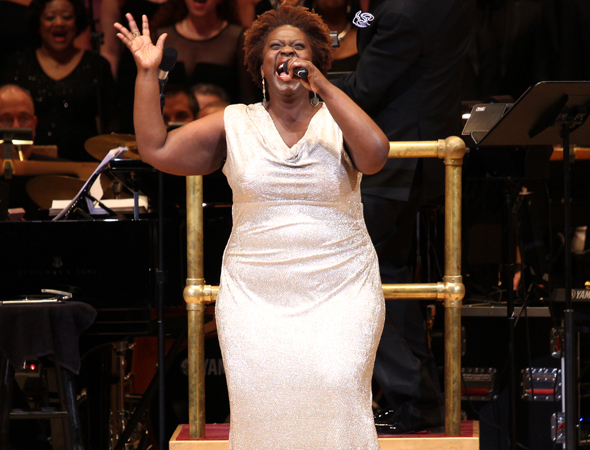 <p>Capathia Jenkins appropriately stops the show with &quot&#x3B;(Let a Big Black Lady) Stop the Show&quot&#x3B; from <em>Martin Short: Fame Becomes Me</em>.</p><br />(© David Gordon)